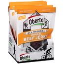 Oberto Original Natural Style Beef Jerky 1.5 Ounces Per Pack - 8 Per Box - 6 Per Case
