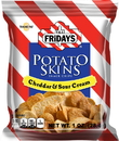 Tgi Friday'S Cheddar & Sour Cream Potato Skins Snack Chips 1 Ounces Per Pack - 72 Per Case