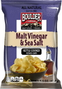 Boulder Canyon Malt Vinegar Sea Salt Kettle Chips 1.5 Ounces - 55 Per Case