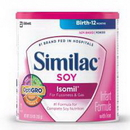 Similac Soy Isomil Powder 1/12.4 Oz Can.