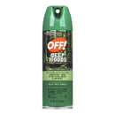 Off Deep Wood Scented Aerosol 6 Ounces - 12 Per Case