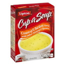 Lipton Cup-A-Soup Soups/Sides Chicken With Meat Pouch 12 2.4 Oz