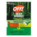 Deep Woods Off Towelettes 12 Count 12-12 Count