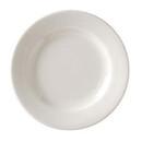 Vertex China VRE-16 Vista Collection American White Plate #10 Can 1-1 Dozen