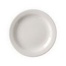 Vertex China VNR-8 Vista Collection American White Plate Narrow Rim 9 Inch 1-2 Dozen