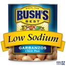 Bush'S Best Low Sodium Garbanzo Beans #10 Can - 6 Per Pack