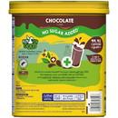 Nestle Nesquik Milk Flavoring Sugar Free Chocolate Powder 16 Ounce Tub - 6 Tubs Per Case