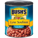 Bush'S Best Low Sodium Pinto Beans #10 Can - 6 Per Pack