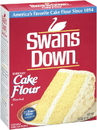 Swans Down Flour 00047900130116 8/32 Ounce Box Swans Down Cake Flour Box