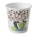 Perfect Touch 92959 10 Oz. Insulated Paper Hot Cup Coffee Dreams