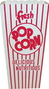 Dixie 48E Dixie Quick Fill Scoop Popcorn Boxes 500 Count Size: 3X4X8 Red