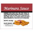 Sauer Marinara Sauce 1 Ounce Cup - 100 Per Case