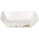 Dixie Kant Leek 2 Lb Polycoated Paper Food Tray 250 Per Pack - 4 Per Case