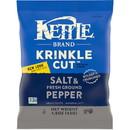 Kettle Krinkle Potato Chip Salt & Pepper 1.5Oz