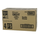 Cheez-It Double Cheese Crackers Snack Mix 3.5 Ounce Bag - 6 Bags Per Case