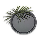 Party Tray EMI-760B Tray Round Conserve Black 16 Inch 1-25 Each
