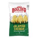 Boulder Canyon Jalapeno Cheddar Kettle Cooked Potato Chips 1.5 Ounces - 55 Per Case