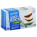 Capri Sun 100% Juice Ready To Drink Apple Juice 60 Fluid Ounce - 4 Per Case