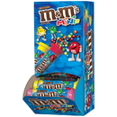 M&M'S Milk Chocolate M&M Mini Tubes 1.08 Ounces Per Pack - 24 Per Box - 12 Packs Per Case