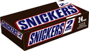 Snickers King Size Chocolate Candy Bar 3.29 Ounces - 24 Per Pack - 6 Packs Per Case