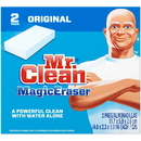 Mr. Clean 2X Strong With Durafoam Original Magic Eraser 2 Per Pack - 12 Per Case