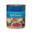 Commodity Mexican Style Red Beans #10 Can - 6 Per Case