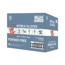 Valugards White Nitrile Powder Free Medium Glove 100 Per Box - 10 Boxes Per Case