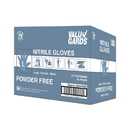 Valugards White Nitrile Powder Free Large Glove 100 Per Box - 10 Boxes Per Case