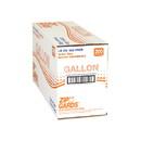 Zip Gard 2.7 Mil Low Density Clear Resealable Gallon Size Dispenser Pack Freezer Bag 200 Per Pack - 1 Per Case