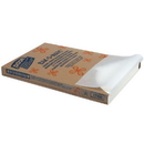 Dixie 24.38 Inch X 16.38 Inch Orange Label Grease Proof White Parchment Pan Liner 1000 Per Pack - 1 Per Case