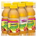 Mott'S 100% Apple Juice 8 Ounces Per Plastic Bottle - 6 Per Pack - 4 Per Case