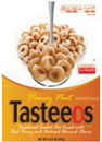 Ralston Honey & Nut Tasteeos Cereal 28 Ounces Per Pack - 4 Per Case