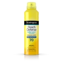 Neutrogena 6887274 Sunscreen Spray Beach Defense Spf 70 4-3-6.5 Ounce