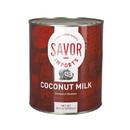 Savor Imports Coconut Milk #10 Can - 6 Per Case