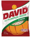 David 2620046388 David Pumpkin Seeds Roasted And Salted; Case