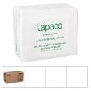 Lapaco .125 Fold White Nu-Linen Guest Towel 100 Per Pack - 5 Per Case