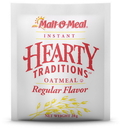 Malt O Meal Hearty Traditons Instand Regular Oatmeal 1 Ounce Per Pack - 200 Per Case