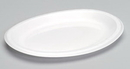 Genpak - Dinnerware LAM11---3L Large Laminated Oval Platter 8.5 X 11.5 Black