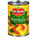 Del Monte Sliced In Heavy Syrup Yellow Cling Peach 15.25 Ounce Can - 12 Per Case