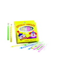 Sterno Candle Lamp Spiral Stripe Birthday Candle 36 Per Pack - 12 Per Box - 12 Per Case