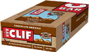 Clif Chocolate Brownie Snack Bar 2.4 Ounces - 12 Per Pack - 16 Packs Per Case