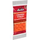 Austin Cheddar Cheese On Cheese Sandwich Cracker .93 Ounces Per Pack - 6 Per Box - 24 Per Case