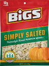 Bigs 55136 12-Ct/5.0 oz Bigs Lightly Salted Pumpkin Seeds Case
