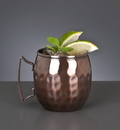 World Tableware MM-100 Moscow Mule Hammered Mug 14 Ounces 12-1 Each