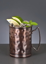World Tableware 14 Ounce Hammered Moscow Mule Cup 12 Per Pack - 1 Per Case