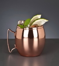 World Tableware 14 Ounce Copper Moscow Mule Mug 12 Per Pack - 1 Per Case