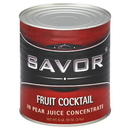 Savor Imports Fruit Cocktail Can 102 Ounces - 6 Per Case