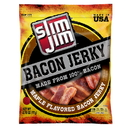 Slim Jim Maple Bacon Jerky 2.75 Ounce Bags - 8 Bags Per Case