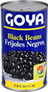 Goya Canned Black Beans 46 Ounces - 12 Per Case