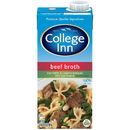 Beef Broth Lower Sodium College Inn 12/32Oz Aseptic Cartons